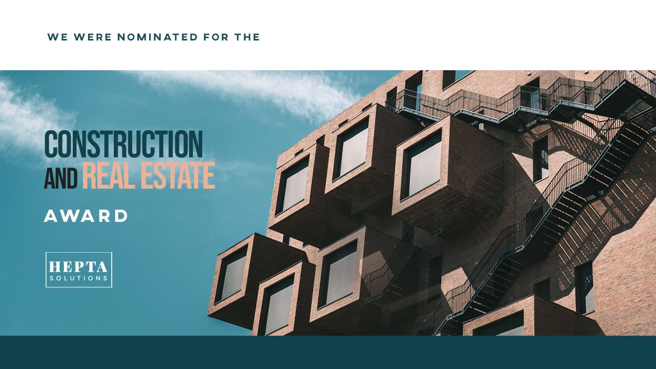 construction and real estate award